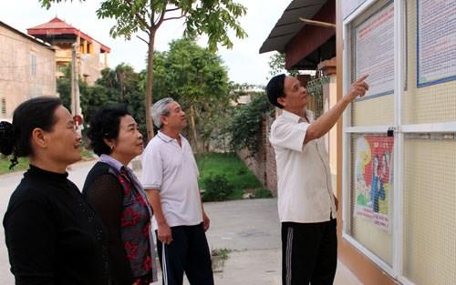 Thực hiện Quy chế dân chủ cơ sở- một nội dung quan trọng trong công tác giám sát của Mặt trận Tổ quốc Việt Nam