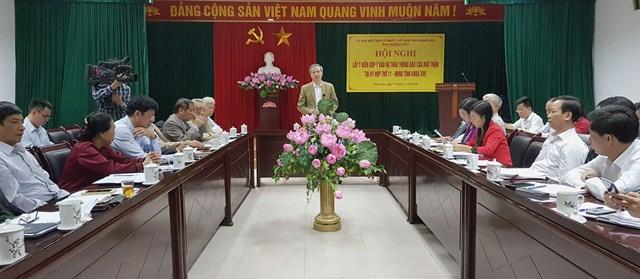 Thanh Hóa: Góp ý vào dự thảo tổng hợp ý kiến, kiến nghị của cử tri và nhân dân tại kỳ họp thứ 11 HĐND tỉnh
