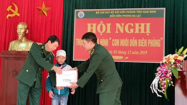 BĐBP Nam Định triển khai mô hình 'Con nuôi đồn biên phòng'