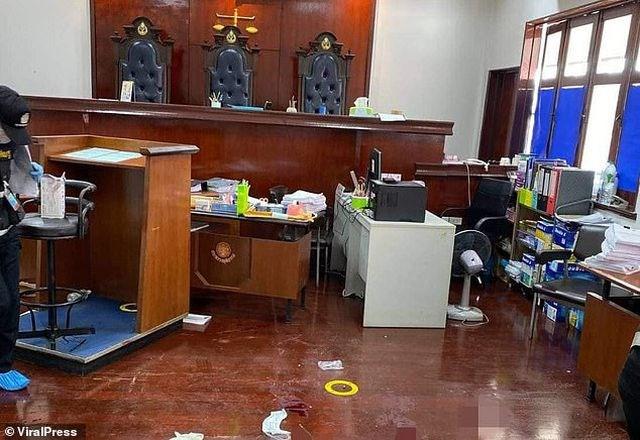 Chấn động vụ tướng Thái Lan bắn chết nguyên đơn và luật sư ngay tại tòa án