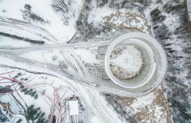 Những bức ảnh ấn tượng về thời tiết trên thế giới khi nhìn từ trên cao - 9