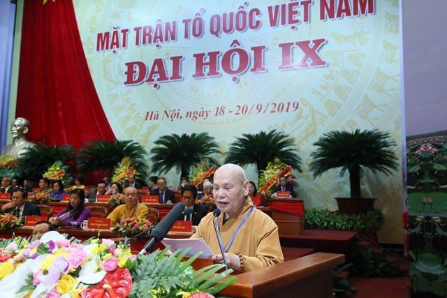 Đại hội đại biểu toàn quốc MTTQ Việt Nam lần thứ IX tiếp tục thảo luận một số nội dung quan trọng - 3
