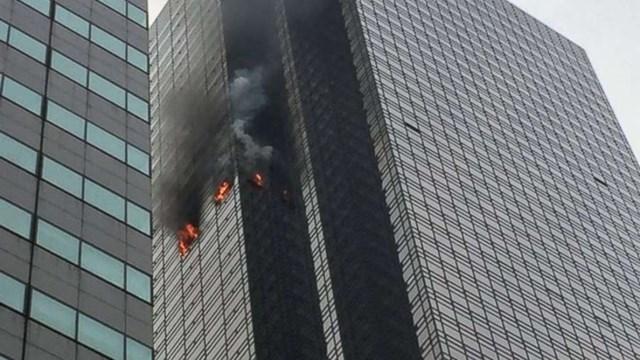 Mỹ: Cháy lớn tại tầng 50 Tháp Trump khiến 5 người thương vong