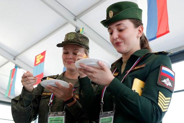 [ẢNH] Những 'bông hồng thép' tại Hội thao Quân sự quốc tế -  International Army Games 2019 - 5
