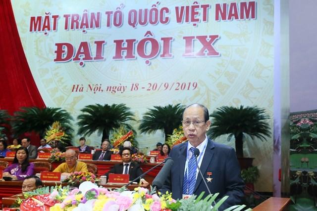 Đại hội đại biểu toàn quốc MTTQ Việt Nam lần thứ IX tiếp tục thảo luận một số nội dung quan trọng - 2