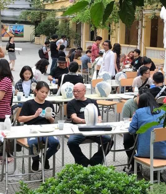 Họa sĩ Trịnh Tuân: Hanoi Art Connecting đã có vị thế chắc chắn - 3