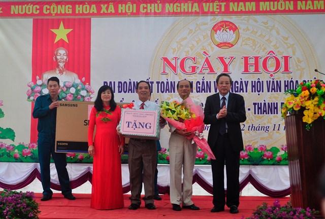 Bí thư Tỉnh ủy Quảng Bình dự 'Ngày hội Đại đoàn kết toàn dân tộc' gắn với 'Ngày hội văn hóa quân – dân' - 1