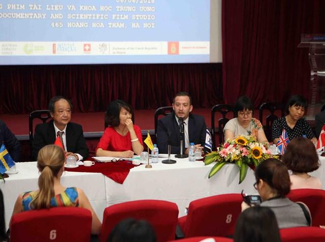 Liên hoan Phim tài liệu châu Âu - Việt Nam lần thứ 9:12 quốc gia tham dự