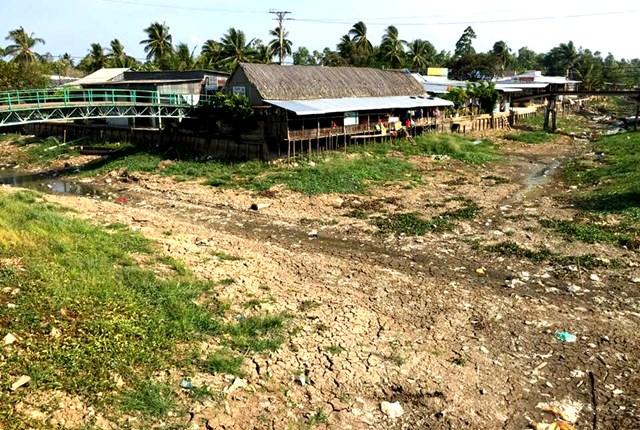 Đồng bằng sông Cửu Long: Hạn mặn vẫn uy hiếp