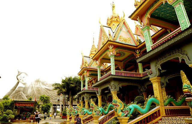 Độc đáo chùa Khmer Nam Bộ - 1