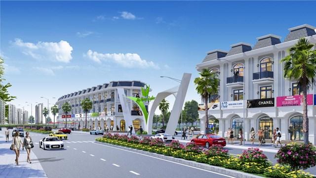 Ra mắt hàng trăm nền đất shophouse dự án Mỹ Hưng Skyline - 1