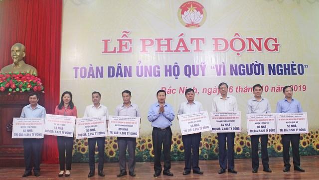 Bắc Ninh: Phát động ủng hộ Quỹ 'Vì người nghèo' năm 2019 - 1