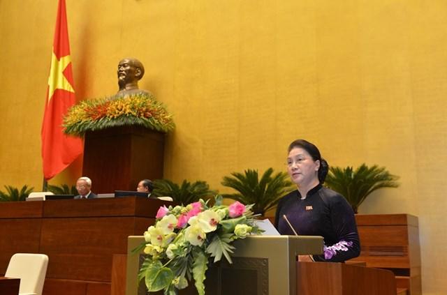 Quốc hội họp phiên bế mạc kỳ họp thứ 8 - 2