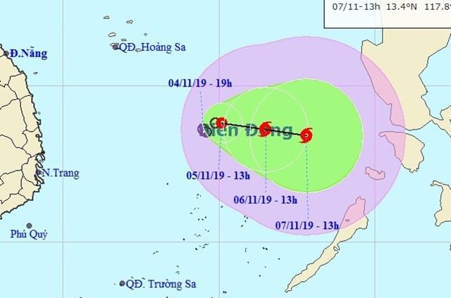 Khẩn trương ứng phó với áp thấp nhiệt đới khả năng mạnh lên thành bão