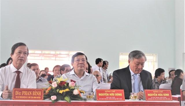 Chánh án Nguyễn Hòa Bình dự Ngày hội Đại đoàn kết tại Quảng Ngãi - 2