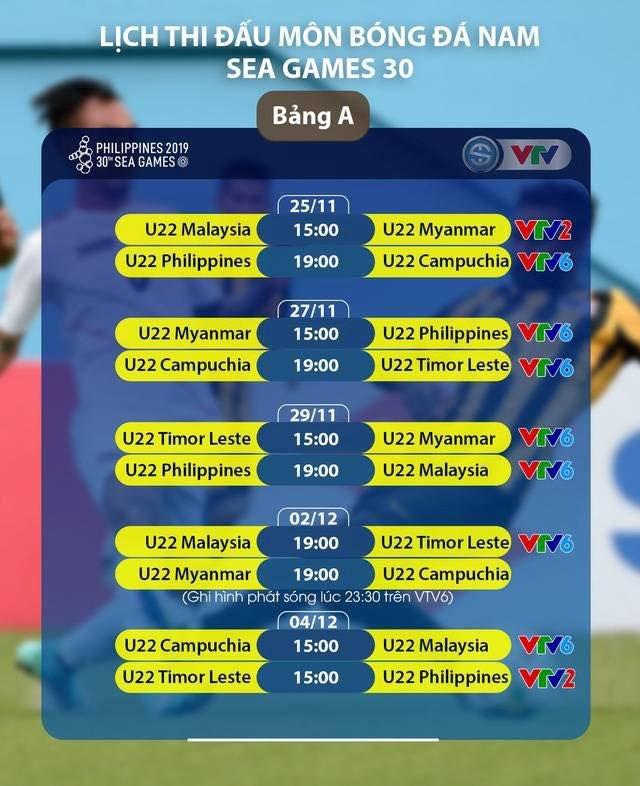 Báo Thái Lan đánh giá cao đội hình U22 Việt Nam dự SEA Games - 1