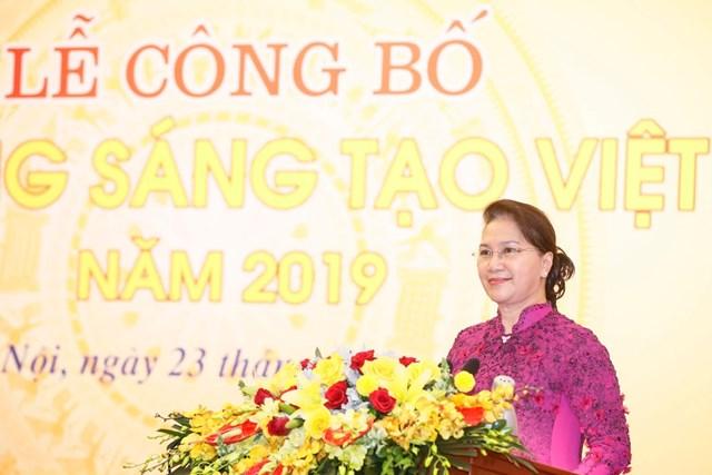 Vinh danh 74 công trình tiêu biểu trong Sách vàng Sáng tạo Việt Nam năm 2019