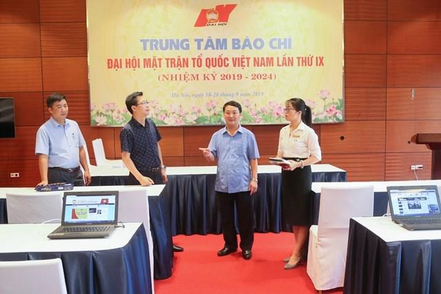 Sẵn sàng cho Đại hội MTTQ Việt Nam lần thứ IX - 2