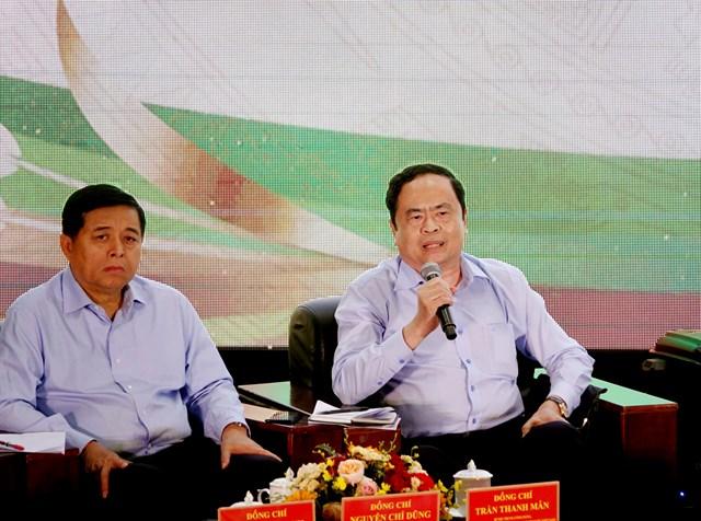 Thủ tướng, Chủ tịch UBTƯ MTTQ Việt Nam cùng đối thoại với nông dân - 1