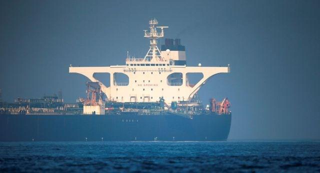 Mỹ ra lệnh bắt siêu tàu chở dầu Iran vừa được Anh thả tự do