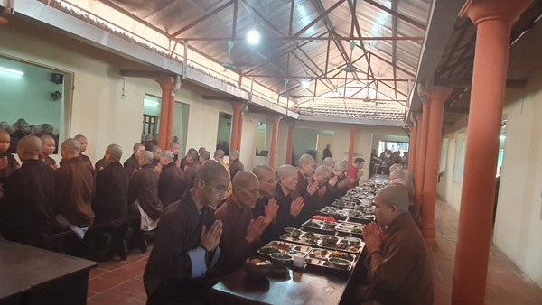 [ẢNH] Một ngày ở Học viện Phật giáo Việt Nam - 3