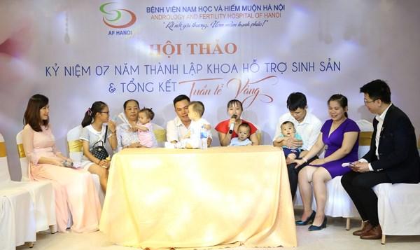 Bệnh viện Nam Học và Hiếm muộn Hà Nội tổng kết 'Tuần lễ Vàng Ươm mầm hạnh phúc 2019'