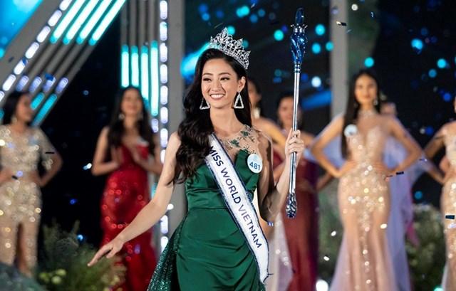 Đăng quang Hoa hậu, Lương Thuỳ Linh sẽ dự thi Miss World 2019 tại London