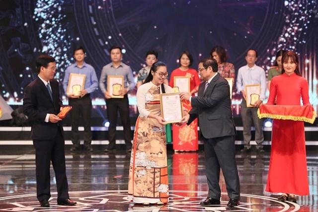 [ẢNH] Lễ trao giải 'Báo chí với công tác đấu tranh phòng, chống tham nhũng, lãng phí' lần thứ hai  - 5