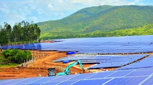 Krông Pa hấp dẫn các dự án điện năng lượng mặt trời