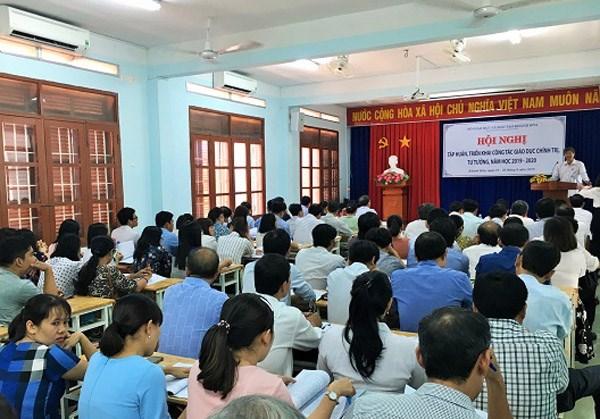 Khánh Hòa: Triển khai nhiệm vụ giáo dục chính trị, tư tưởng năm học 2019-2020