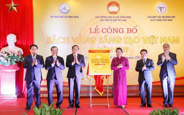 Vinh danh 74 công trình tiêu biểu trong Sách vàng Sáng tạo Việt Nam năm 2019 - 2