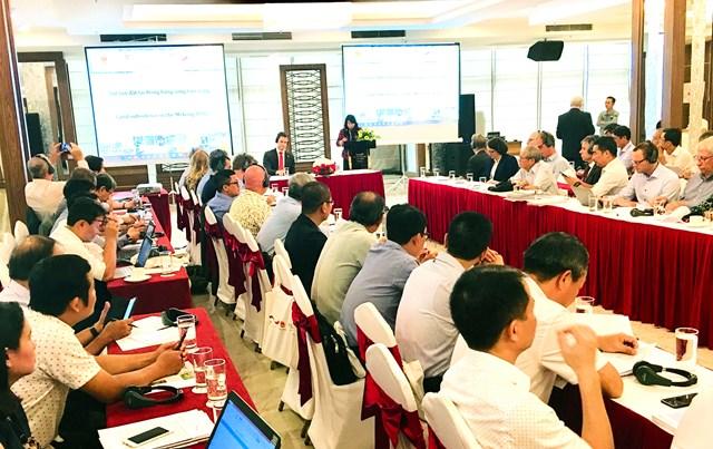 Bàn giải pháp thích ứng với sụt lún đất cho Đồng bằng sông Cửu Long
