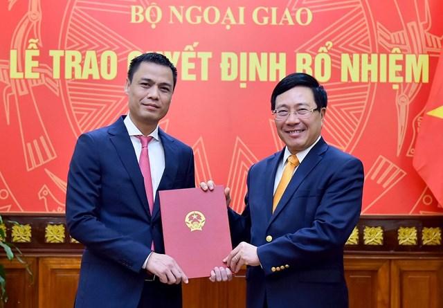 Bộ Ngoại giao bổ nhiệm Trợ lý Phó Thủ tướng, Bộ trưởng Phạm Bình Minh