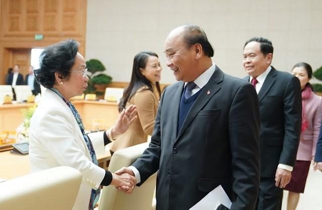 Hội nghị đánh giá việc thực hiện quy chế phối hợp công tác giữa Chính phủ và MTTQ Việt Nam - 6