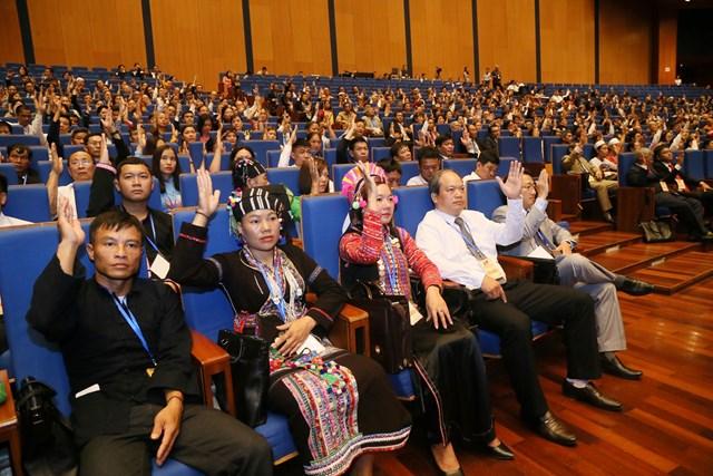 999 đại biểu chính thức tham dự Đại hội MTTQ Việt Nam lần thứ IX - 6