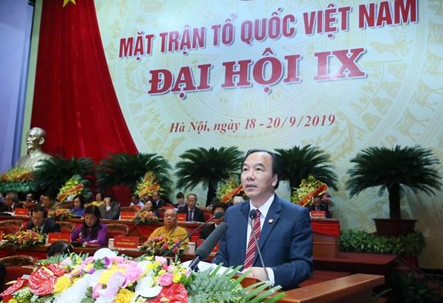 Đại hội đại biểu toàn quốc MTTQ Việt Nam lần thứ IX tiếp tục thảo luận một số nội dung quan trọng - 6
