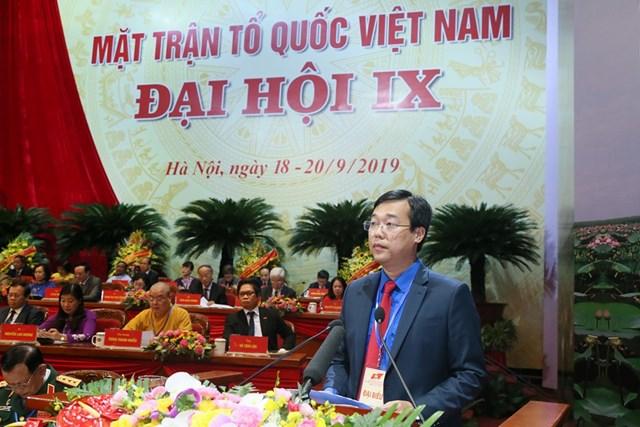 Đại hội đại biểu toàn quốc MTTQ Việt Nam lần thứ IX tiếp tục thảo luận một số nội dung quan trọng - 1