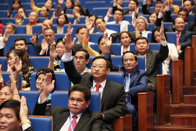 Hiệp thương cử 374 vị tham gia UBTƯ MTTQ Việt Nam khóa IX - 1