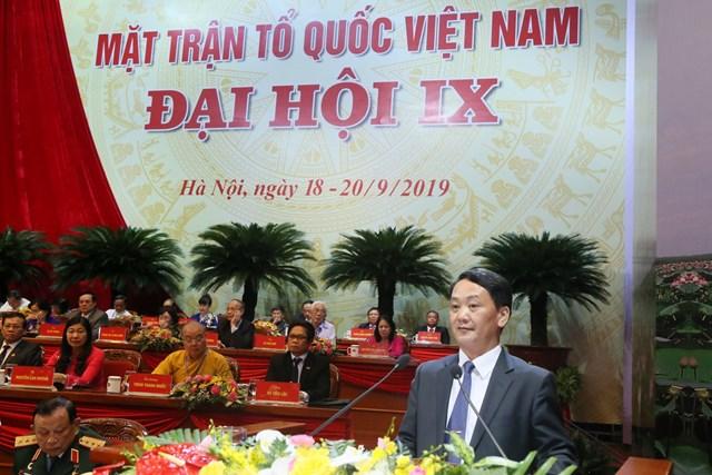 999 đại biểu chính thức tham dự Đại hội MTTQ Việt Nam lần thứ IX - 1