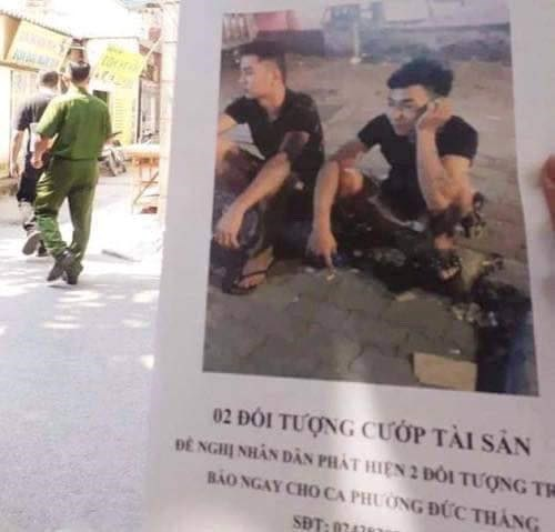 Công an Hà Nội công bố hình ảnh, truy tìm 2 nghi can sát hại nam sinh chạy Grab