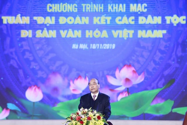 Khai mạc 'Tuần Đại đoàn kết các dân tộc - Di sản văn hóa Việt Nam' năm 2019