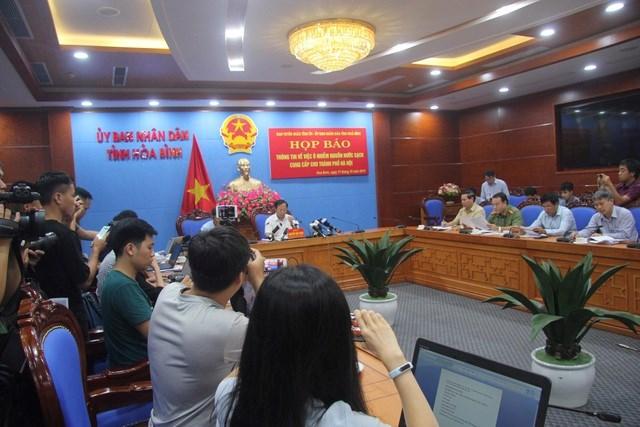 Lãnh đạo Công ty nước sạch Sông Đà từ chối xin lỗi, nói 'chúng tôi thiệt hại nhất'