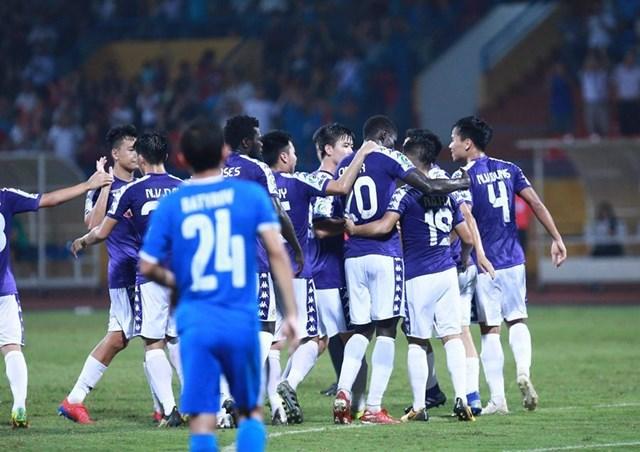 Bán kết liên khu vực AFC Cup: Hà Nội FC ngược dòng thành công