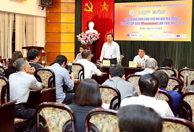 Giải bóng bàn các CLB Hà Nội mở rộng tranh Cúp báo Hà Nội mới lần thứ VII năm 2019: Hứa hẹn đầy hấp dẫn