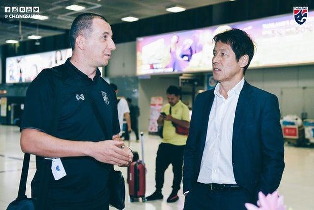 Thái Lan vẫn mang trợ lý miệt thị HLV Park Hang Seo dự SEA Games