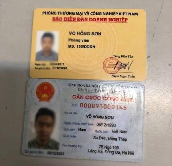Người đàn ông vi phạm giao thông rút thẻ 'giả' phóng viên là ai?