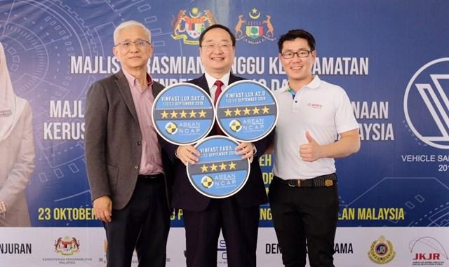 VinFast đạt chứng nhận an toàn ASEAN NCAP 5 sao cho Lux SA2.0, Lux A2.0 và 4 sao cho Fadil - 1