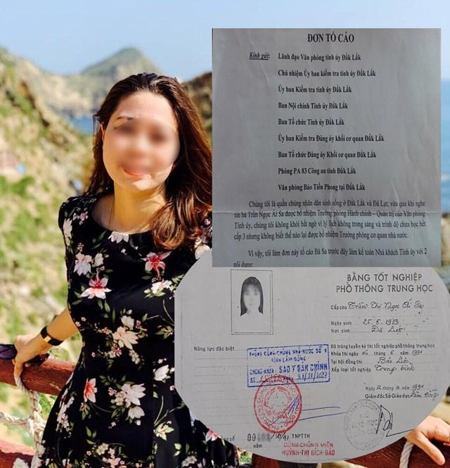 Cho thôi việc nữ trưởng phòng, cách chức nữ phó phòng Tỉnh ủy Đắk Lắk dùng bằng cấp không hợp pháp