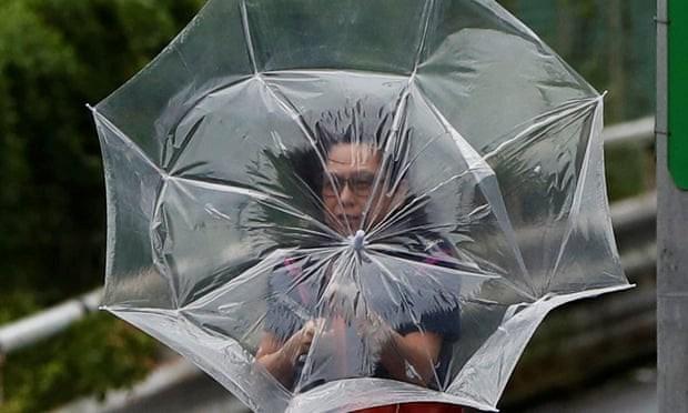 Siêu bão Faxai quét qua Tokyo - 1