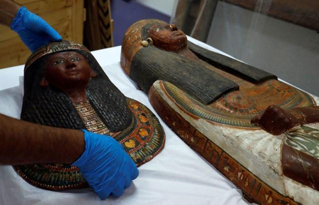 Ai Cập: Xác ướp được bảo tồn hoàn hảo chính thức trưng bày tại Cairo - 2